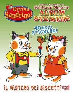 TOYS2 EDIZIONI - EVVIVA SANDRINO! ALBUM STICKER