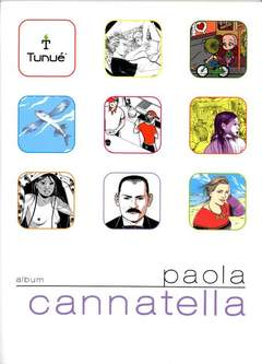 Copertina Album n.10 - Paola Cannatella, TUNUE