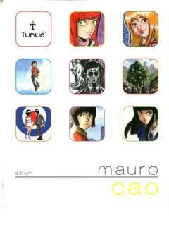 Copertina Album n.7 - Mauro Cao, TUNUE