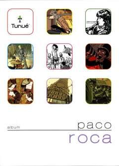 Copertina Album n.1 - Paco Roca, TUNUE