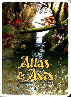 Copertina ATLAS & AXIS n.1 - ATLAS & AXIS, TUNUE