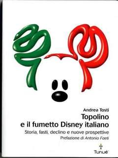 Copertina LAPILLI n.25 - TOPOLINO E IL FUMETTO DISNEY ITALIANO , TUNUE
