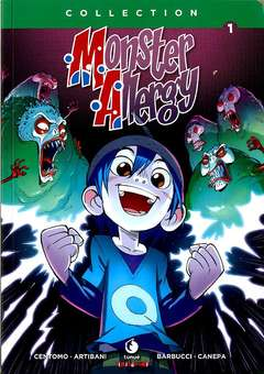 Copertina MONSTER ALLERGY Collection m10 n.1 - MONSTER ALLERGY Collection, TUNUE