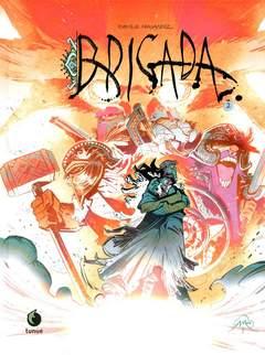 Copertina Prospero's Books Extra n.15 - Brigada vol.2, TUNUE