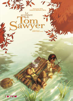 Copertina Tipitondi n.2 - Le avventure di Tom Sawyer, TUNUE