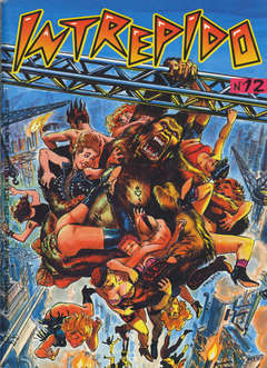 Copertina INTREPIDO 1992 n.12 - INTREPIDO 1992              12, UNIVERSO
