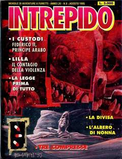 Copertina INTREPIDO 1995 n.8 - INTREPIDO 1995               8, UNIVERSO