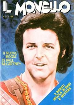 Copertina MONELLO ANNO 1973 n.31 - MONELLO ANNO 1973           31, UNIVERSO