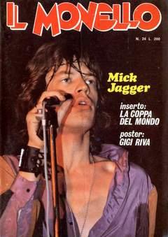 Copertina MONELLO ANNO 1974 n.24 - MONELLO ANNO 1974           24, UNIVERSO