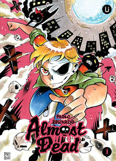 Copertina UPPER GROUND n.1 - ALMOST DEAD 1, UPPER COMICS