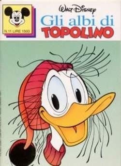 Copertina ALBI DI TOPOLINO n.11 - GLI ALBI DI TOPOLINO 1/73        11, WALT DISNEY PRODUCTION