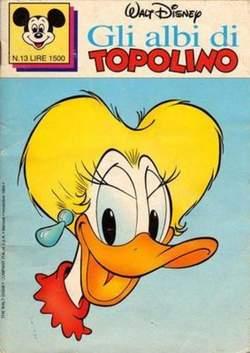 Copertina ALBI DI TOPOLINO n.13 - GLI ALBI DI TOPOLINO 1/73        13, WALT DISNEY PRODUCTION