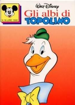 Copertina ALBI DI TOPOLINO n.16 - GLI ALBI DI TOPOLINO 1/73        16, WALT DISNEY PRODUCTION