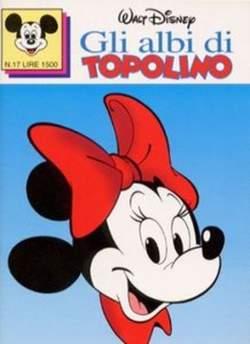 Copertina ALBI DI TOPOLINO n.17 - GLI ALBI DI TOPOLINO 1/73        17, WALT DISNEY PRODUCTION
