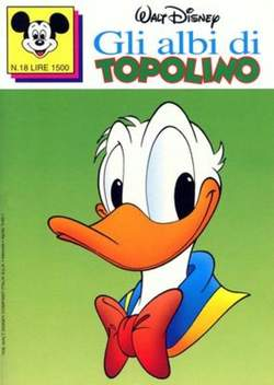 Copertina ALBI DI TOPOLINO n.18 - GLI ALBI DI TOPOLINO 1/73        18, WALT DISNEY PRODUCTION