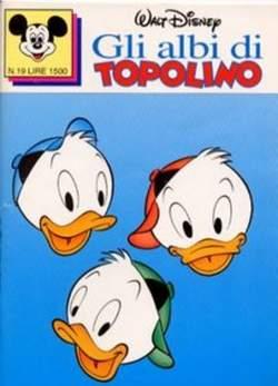 Copertina ALBI DI TOPOLINO n.19 - GLI ALBI DI TOPOLINO 1/73        19, WALT DISNEY PRODUCTION