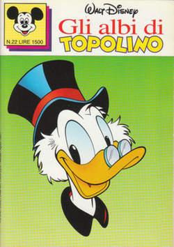 Copertina ALBI DI TOPOLINO n.22 - GLI ALBI DI TOPOLINO 1/73        22, WALT DISNEY PRODUCTION