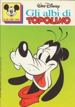 Copertina ALBI DI TOPOLINO n.25 - GLI ALBI DI TOPOLINO 1/73        25, WALT DISNEY PRODUCTION