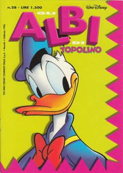 Copertina ALBI DI TOPOLINO n.28 - GLI ALBI DI TOPOLINO 1/73        28, WALT DISNEY PRODUCTION
