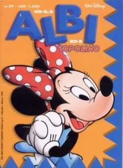 Copertina ALBI DI TOPOLINO n.29 - GLI ALBI DI TOPOLINO 1/73        29, WALT DISNEY PRODUCTION