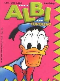 Copertina ALBI DI TOPOLINO n.32 - GLI ALBI DI TOPOLINO 1/73        32, WALT DISNEY PRODUCTION