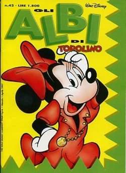 Copertina ALBI DI TOPOLINO n.42 - GLI ALBI DI TOPOLINO 1/73        42, WALT DISNEY PRODUCTION