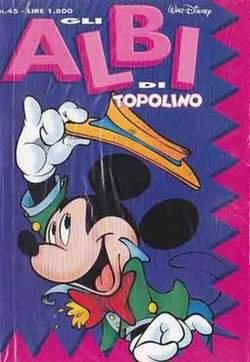 Copertina ALBI DI TOPOLINO n.45 - GLI ALBI DI TOPOLINO 1/73        45, WALT DISNEY PRODUCTION