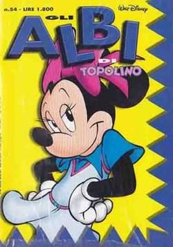 Copertina ALBI DI TOPOLINO n.54 - GLI ALBI DI TOPOLINO 1/73        54, WALT DISNEY PRODUCTION