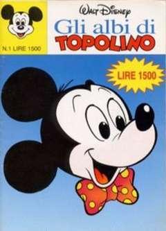 Copertina ALBI DI TOPOLINO n.1 - GLI ALBI DI TOPOLINO 1/73         1, WALT DISNEY PRODUCTION