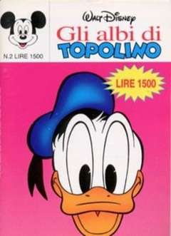 Copertina ALBI DI TOPOLINO n.2 - GLI ALBI DI TOPOLINO 1/73         2, WALT DISNEY PRODUCTION