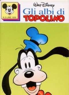 Copertina ALBI DI TOPOLINO n.3 - GLI ALBI DI TOPOLINO 1/73         3, WALT DISNEY PRODUCTION