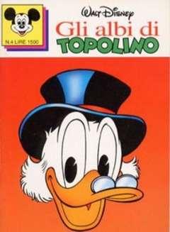 Copertina ALBI DI TOPOLINO n.4 - GLI ALBI DI TOPOLINO 1/73         4, WALT DISNEY PRODUCTION