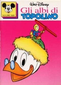 Copertina ALBI DI TOPOLINO n.5 - GLI ALBI DI TOPOLINO 1/73         5, WALT DISNEY PRODUCTION