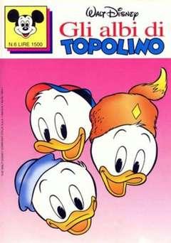 Copertina ALBI DI TOPOLINO n.6 - GLI ALBI DI TOPOLINO 1/73         6, WALT DISNEY PRODUCTION