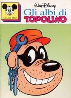 Copertina ALBI DI TOPOLINO n.7 - GLI ALBI DI TOPOLINO 1/73         7, WALT DISNEY PRODUCTION
