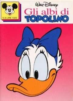 Copertina ALBI DI TOPOLINO n.8 - GLI ALBI DI TOPOLINO 1/73         8, WALT DISNEY PRODUCTION