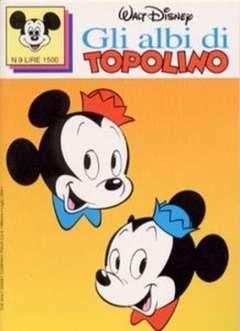 Copertina ALBI DI TOPOLINO n.9 - GLI ALBI DI TOPOLINO 1/73         9, WALT DISNEY PRODUCTION