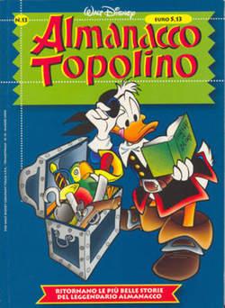 Copertina ALMANACCO TOPOLINO nuova serie n.13 - ALMANACCO TOPOLINO    13, WALT DISNEY PRODUCTION