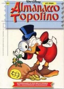 Copertina ALMANACCO TOPOLINO nuova serie n.1 - ALMANACCO  TOPOLINO    1, WALT DISNEY PRODUCTION