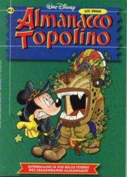Copertina ALMANACCO TOPOLINO nuova serie n.2 - ALMANACCO TOPOLINO      2, WALT DISNEY PRODUCTION