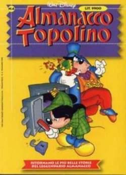 Copertina ALMANACCO TOPOLINO nuova serie n.4 - ALMANACCO TOPOLINO      4, WALT DISNEY PRODUCTION