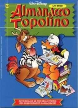 Copertina ALMANACCO TOPOLINO nuova serie n.5 - ALMANACCO TOPOLINO      5, WALT DISNEY PRODUCTION