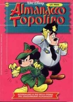 Copertina ALMANACCO TOPOLINO nuova serie n.8 - ALMANACCO TOPOLINO      8, WALT DISNEY PRODUCTION