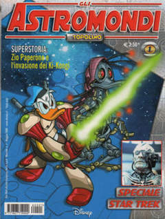 Copertina ASTROMONDI DI TOPOLINO n.1 - ASTROMONDI DI TOPOLINO       1, WALT DISNEY PRODUCTION