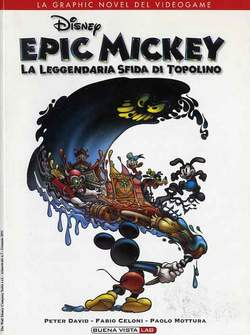 Copertina BUENA VISTA LAB n.7 - EPIC MICKEY, WALT DISNEY PRODUCTION
