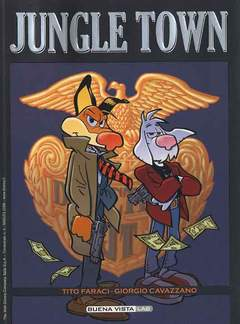 Copertina BUENA VISTA LAB n.4 - Jungle Town, WALT DISNEY PRODUCTION