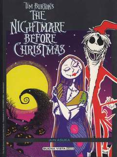 Copertina BUENA VISTA LAB n.3 - Tim Burton's The Nightmare Before Christmas, WALT DISNEY PRODUCTION