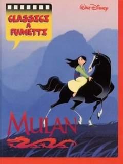 Copertina CLASSICI DISNEY A FUMETTI n.8 - Mulan, WALT DISNEY PRODUCTION