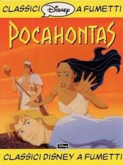 Copertina CLASSICI DISNEY A FUMETTI F.S. n.4 - Pocahontas, WALT DISNEY PRODUCTION