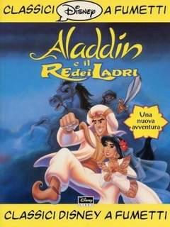 Copertina CLASSICI DISNEY A FUMETTI F.S. n.6 - Aladdin e il re dei ladri, WALT DISNEY PRODUCTION